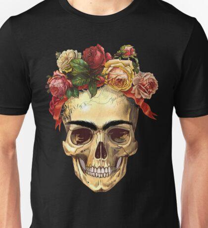 Frida Kahlo Skull Unisex T-Shirt