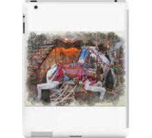 Antique Carousel Horse iPad Case/Skin