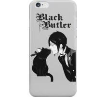 black butler iPhone Case/Skin