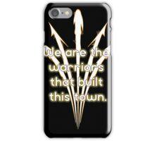 Warriors Gold iPhone Case/Skin