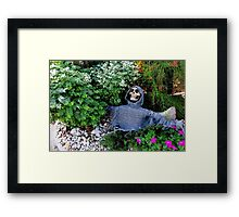 What Grows In YOUR Garden? Framed Print