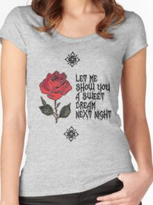 sweet dream Women's Fitted Scoop T-Shirt