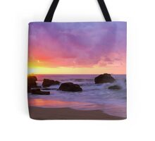 Merewether Beach Sunrise Tote Bag