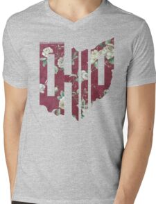RecklessWear - Floral Mens V-Neck T-Shirt