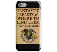 Fantastic beasts 11 iPhone Case/Skin