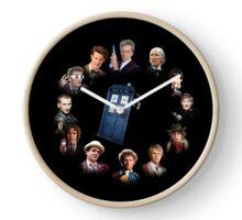12 (and a bit) Doctors Clock Clock