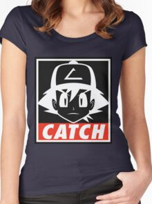You MUST Catch Them All Women's Fitted Scoop T-Shirt