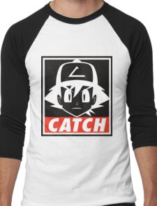 You MUST Catch Them All Men's Baseball ¾ T-Shirt