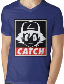 You MUST Catch Them All Mens V-Neck T-Shirt