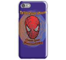 Spider-Man - Super-Hero Classic Great Power iPhone Case/Skin