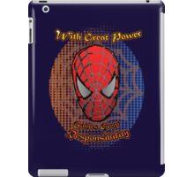 Spider-Man - Super-Hero Classic Great Power iPad Case/Skin