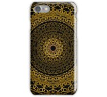 Black and Gold Mandala iPhone Case/Skin