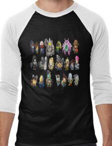 OVERWATCH HEROES Men's Baseball ¾ T-Shirt