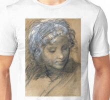 Head of a Female Figure - Giulio Cesare Procaccini - ca. 1610 Unisex T-Shirt