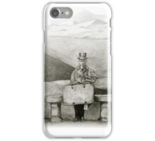 waiting in the desert iPhone Case/Skin