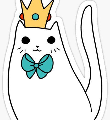 Crown Kitty Sticker
