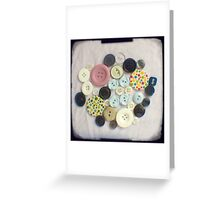 Buttons - ttv photograph Greeting Card