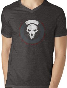 OVERWATCH REAPER Mens V-Neck T-Shirt