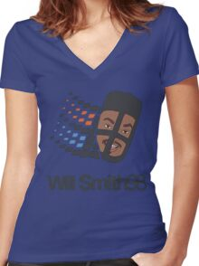 Will Smith 98 Women's Fitted V-Neck T-Shirt