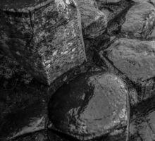 Rocks of Giants Causeway -Northern Ireland #1 Sticker