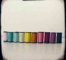 Rainbow threads by gailgriggs