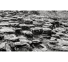 Rocks of Giants Causeway -Northern Ireland #2 Photographic Print