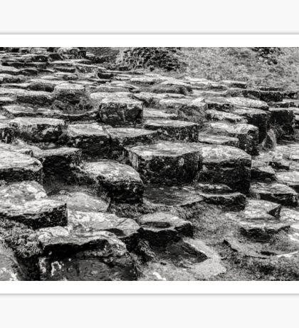 Rocks of Giants Causeway -Northern Ireland #2 Sticker