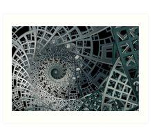 Sierpinski's Lattice I Art Print