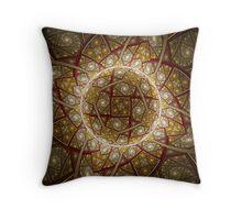 Radiating Crystal Throw Pillow