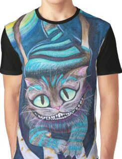 Tim Burton's Cheshire Cat Fan Art  Graphic T-Shirt