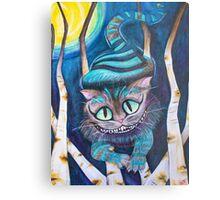 Tim Burton's Cheshire Cat Fan Art  Metal Print