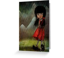 The Storm Greeting Card