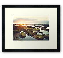 Susan Gilmore Beach Sunrise Framed Print