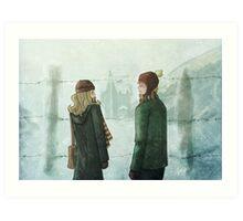 Ron & Hermione Art Print