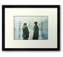 Ron & Hermione Framed Print