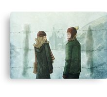 Ron & Hermione Canvas Print