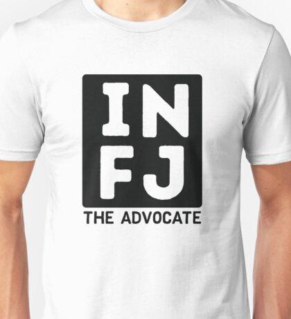 INFJ - Black Print Unisex T-Shirt