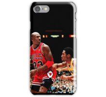 Jordan vs Kobe iPhone Case/Skin