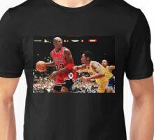 Jordan vs Kobe Unisex T-Shirt