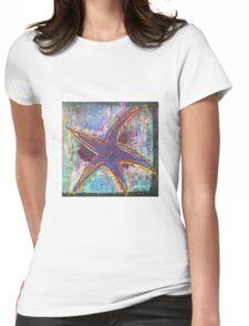 Lone Starfish Womens Fitted T-Shirt