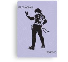 Lee Canvas Print