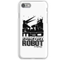 Mad Scientist Robot Co iPhone Case/Skin