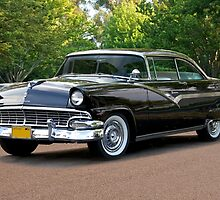 1956 Ford Fairlane Victoria by DaveKoontz