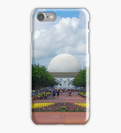 The View from World Showcase  iPhone Case/Skin