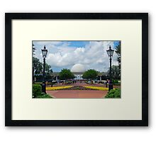 The View from World Showcase  Framed Print