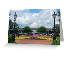 The View from World Showcase  Greeting Card