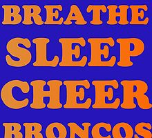 BRONCOS FOOTBALL by Divertions