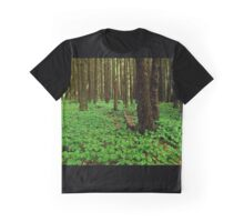 The Forest Floor..Neptune Beach..Yachats, Oregon Graphic T-Shirt
