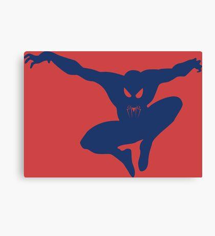 Spidey blue Canvas Print