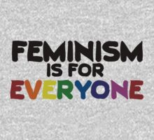 Feminism is for everyone Kids Tee